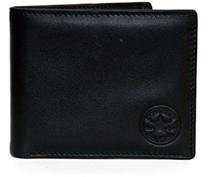 dd8528fa3a7e Converse Bi Fold 8 CC Leather Wallet - All  Amazon.ca  Clothing    Accessories