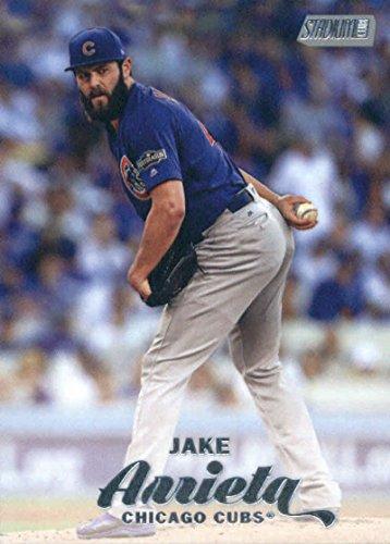 2017 Topps Stadium Club Baseball #223 Jake Arrieta Cubs - Cubs Stadium Club