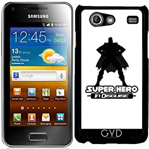 Funda para Samsung Galaxy S Advance (i9070) - Superhéroe Disfrazado by Adamzworld