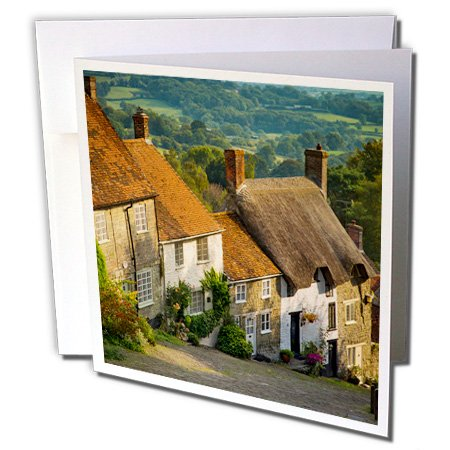 danita-delimont-houses-evening-gold-hill-in-shaftesbury-dorset-england-6-greeting-cards-with-envelop