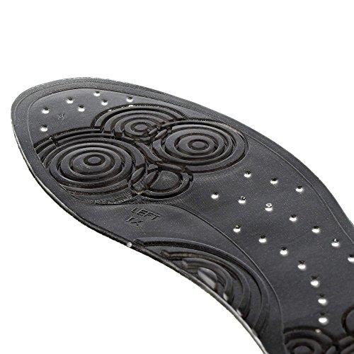 Negro Para gel in nero Plantillas incolore Bama ultra sottile Suola 54Y0wxAqq