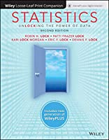 Statistics: Unlocking the Power of Data, 2nd Edition Front Cover