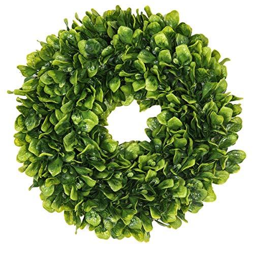 EZCLASSY-Artificial Leaves Wreath 15