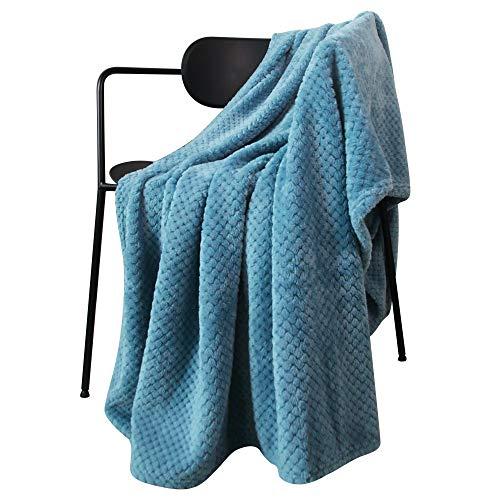 LEWONDER LETUFUL,Throw Blanket,Blue,5060in