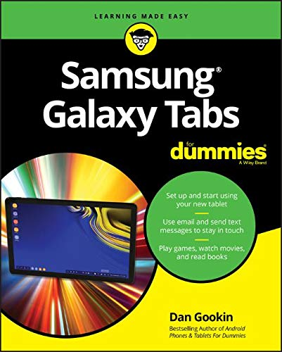 Samsung Galaxy Tabs For Dummies (For Dummies (Computer/Tech))