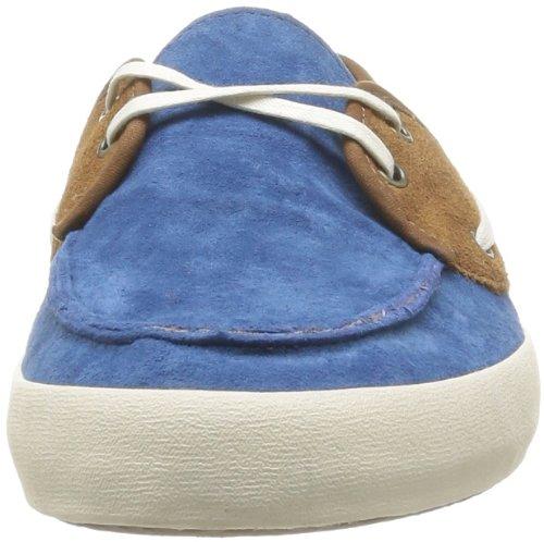 Vans M Chauffeur (Suede) - Zapatillas de Deporte de cuero nobuck hombre azul - Bleu (Dachshu)