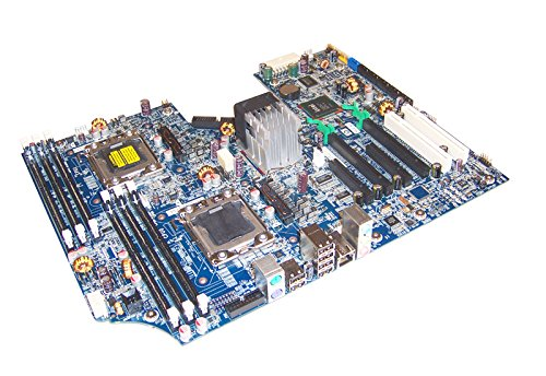 HP Z600 Dual LGA1366 System Board 461439-001 460840-002