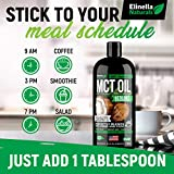Organic MCT Oil for Brain, Energy & Weight Loss