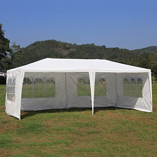 TataYang - Carpa impermeable para jardín (3 x 6 m), diseño de marquesina: Amazon.es: Hogar