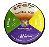Mandala Crafts Soft Drawstring Replacement Rope