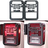 Iparts Stainless Steel Guard Light Kit for 2007-2017 Jeep Wrangler JK Pair (jeep)