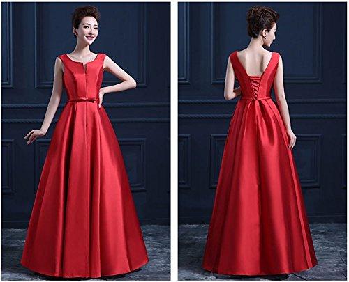 Damen Drasawee Drasawee Damen Rot Empire Rot Empire Damen Empire Kleid Kleid Drasawee 5A4w0x
