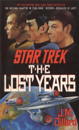 The Lost Years by J.M. Dillard
