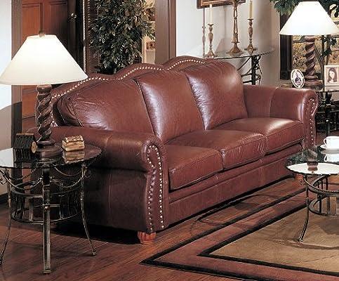 Marvelous Amazon Com Athomemart Cognac Finish 100 Real Italian Pabps2019 Chair Design Images Pabps2019Com
