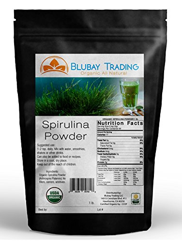 5 lb ORGANIC SPIRULINA POWDER 100% PURE NON-GMO ~ WHOLESALE ENERGY WEIGHT LOSS by Go Nutra