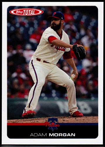 2019 Topps Total (Wave 1) Baseball #15 Adam Morgan Philadelphia Phillies Official MLB Trading Card Limited to under 600 made RARE