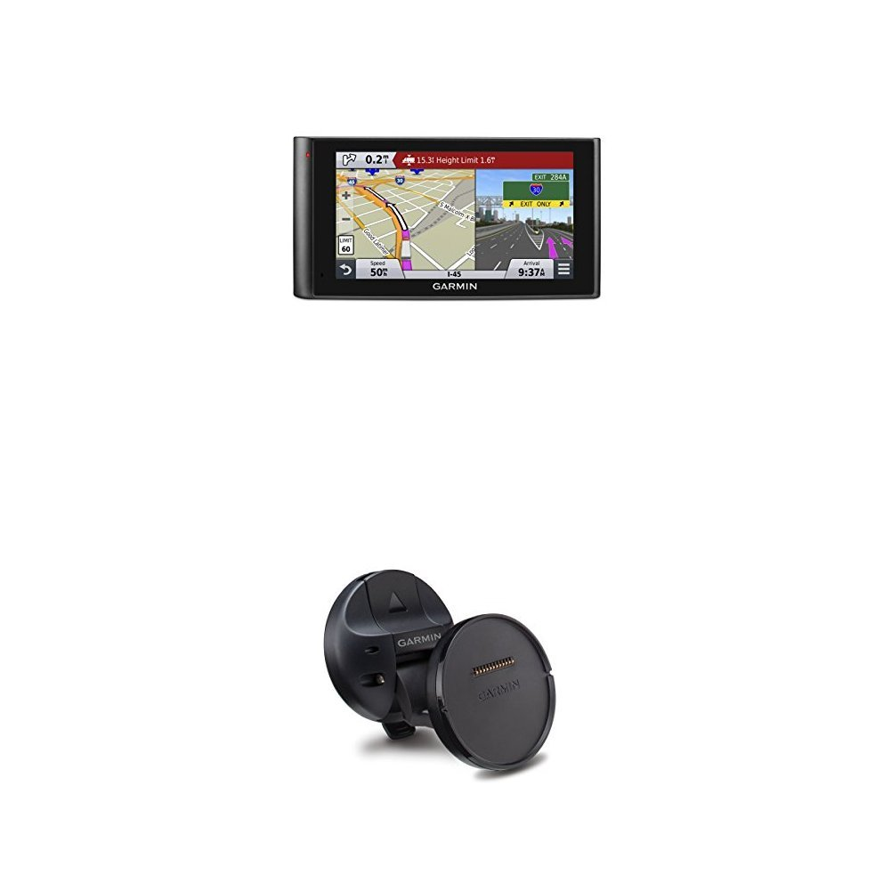 Garmin DezlCam LMTHD 6-Inch Truck Navigator and Suction Cup with Magnetic Mount for Dezl Cam