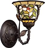 Elk 08014-Tbh Latham 1-Light Sconce - 10-1 2-Inch - Tiffany Bronze With Highlight