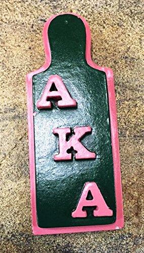 Alpha Kappa Alpha (AKA) Sorority Paddle Ceramic Magnet