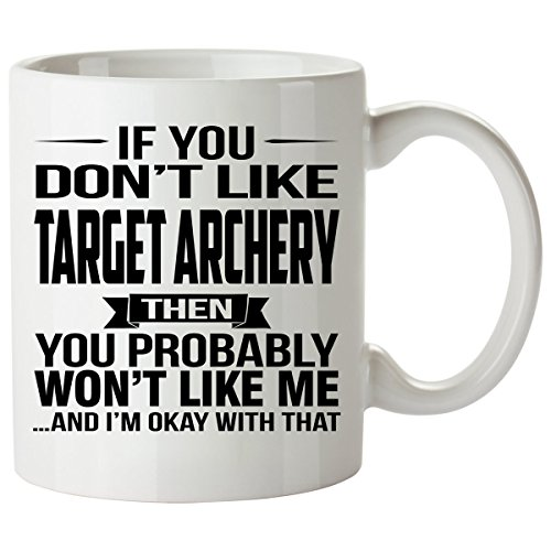 Target Referee Costume (If You Don't Like TARGET ARCHERY Mug 11 Oz - TARGET ARCHERY Gifts - Unique Coffee Mug, Coffee Cup)