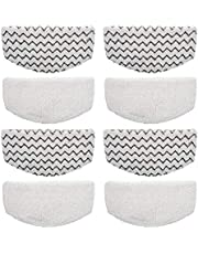 8PK Washable Mopping & Scrubbing Pads Replacement for Bissell Powerfresh 1940 1440 1544 Series Model 1544A, 2075A, 1440, 1940W,19404, Deluxe 1806, 1940A, 5938, 19408, 1940Q, 1940W Steam Mop