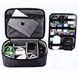 BUBM Universal Professional Organizer Handbag For Tablet iPad Pro Phone Battery Camera Cable Case 12inch Tablet
