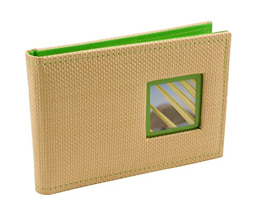 Photo Album Palm Tree - BorderTrends Beach 40-Pocket Rattan Cover Photo Album, Green