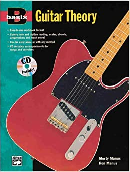Book Basix Guitar Theory (Book & CD) by Morty & Ron Manus (1996-05-03)