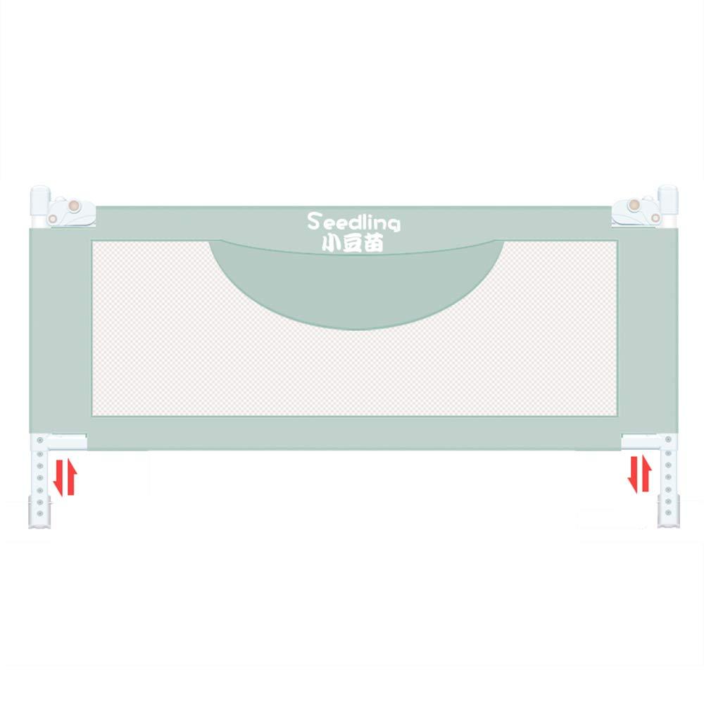 LHA ベッドガードフェンス ベッドフェンス折りたたみ安全ベビーフェンス-150CM、180センチメートル、200センチメートル (色 : Green, サイズ さいず : 200cm) 200cm Green B07LD13F2P