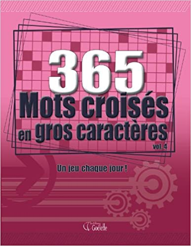 Lire un 365 MOTS CROISES EN GROS CARAC pdf ebook
