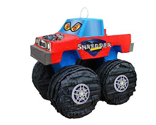 Aztec Imports Pinatas Shredder Monster Truck Pull