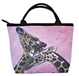 Giraffes Small Purse, Vegan Handbag - Animal Prints From My Original Painting, Comfort