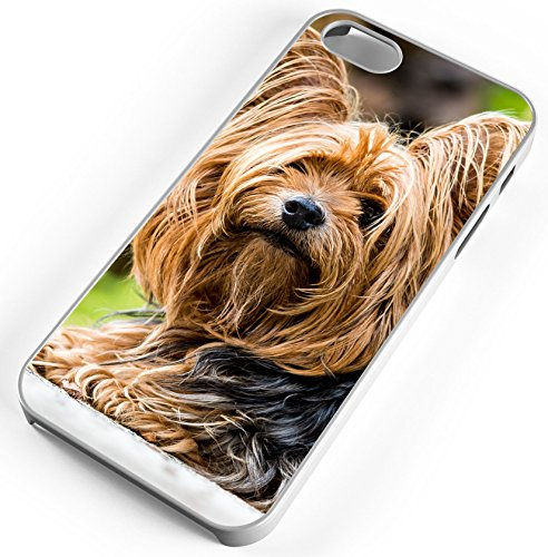 (iPhone 6s Case Yorkshire Terrier Dog Small Fur Canine Customizable by TYD Designs in White Rubber)