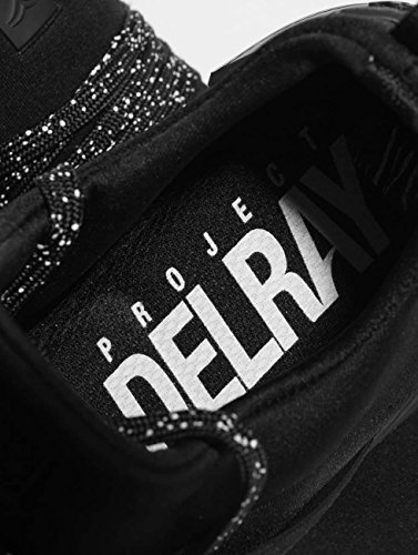 Project Zapatillas Delray para de sintético Negro Hombre xAUqpxw