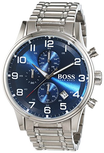 Hugo Boss 1513183 Chronograph Mens Watch - Blue Dial
