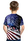 PattyCandy Boys Patriotic USA Independence Day Comfy Kids Cotton Tee T-shirt