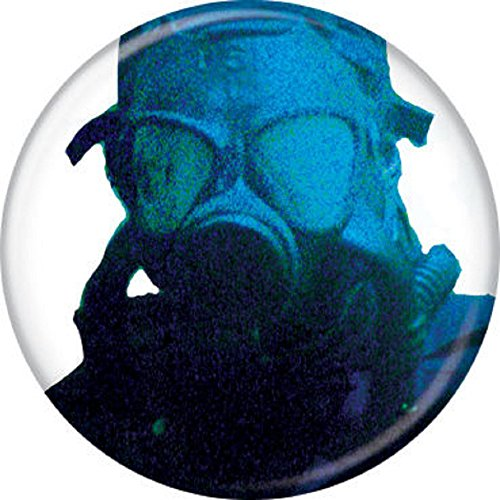 Dawn of Dead Peter Mask - Pinback Button (Dawn Of The Dead Mask)