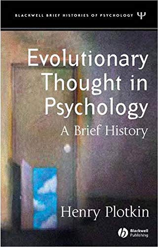 Evolutionary Thought in Psychology: A Brief History ebook