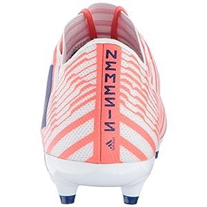 adidas Performance Women's Nemeziz 17.3 FG W Soccer Shoe, White/Mystery Ink/Easy Coral, 8 Medium US