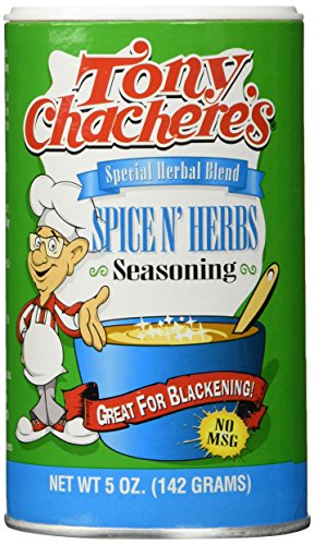 Tony Chachere's Special Herbal Blend Spice N' Herb Seasoning - 5 - Cajun Seasoning Blackening