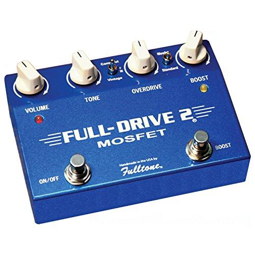 Fulltone Fulldrive2 MOSFET Overdrive/Boost (Drive Guitar Pedal)