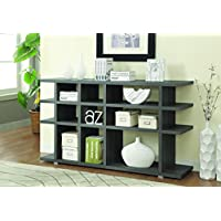 Coaster 800359 Home Furnishings Bookcase, Weathered Grey
