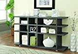 Cheap Coaster Home Furnishings 3-Tier Bookcase Weathered Grey