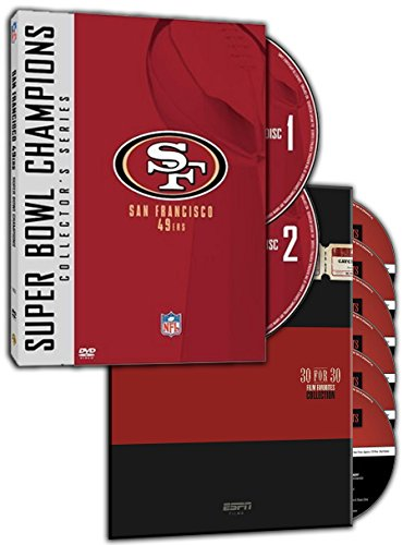 NFL Super Bowl Collection - San Francisco 49ers, ESPN Films 30 for 30: Film Favorites Collection. (2 DVDs - Movies 90s Popular Most