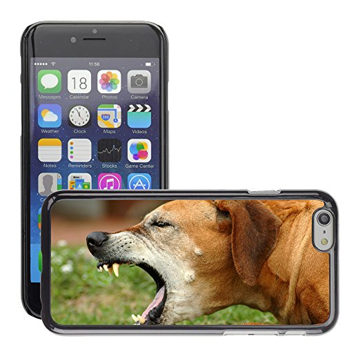 "Premio Sottile Slim Cassa Custodia Case Cover Shell // V00002664 chien Coughing // Apple iPhone 6 6S 6G 4.7"""