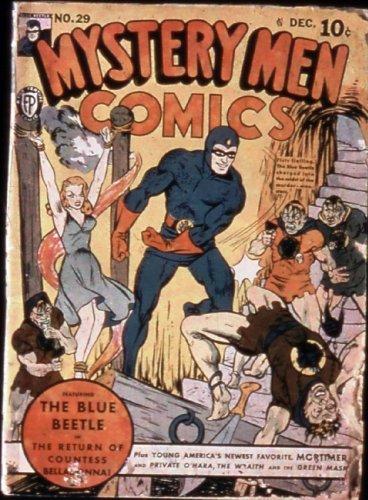 Mystery Men Comics #29 (Illustrated) (Golden Age Preservation - Frames Paul Frank