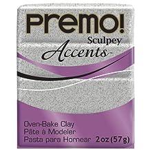 Sculpey PE02 5065 Oven Bake Clay premo! Accents-Gray Granite