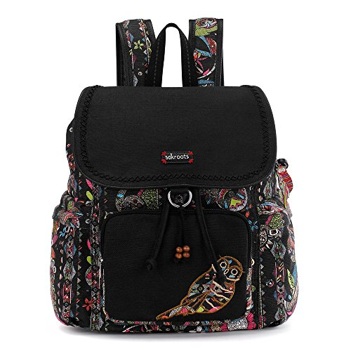 Sakroots Artist Circle Signature Backpack, Neon Spirit Desert, One Size