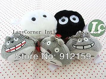 Amazon.com: 100/lot Mi Vecino Totoro espíritus polvo blanco ...