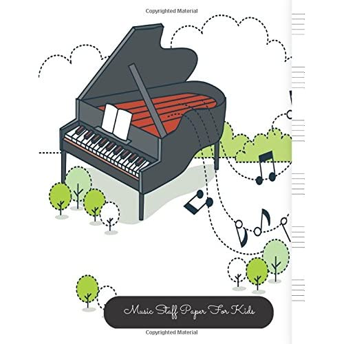 Music Staff Paper For Kids Piano Large Empty Staff
